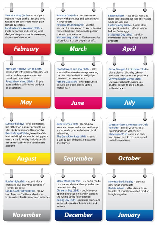 Marketing Event Calendar Template Militaryalicious