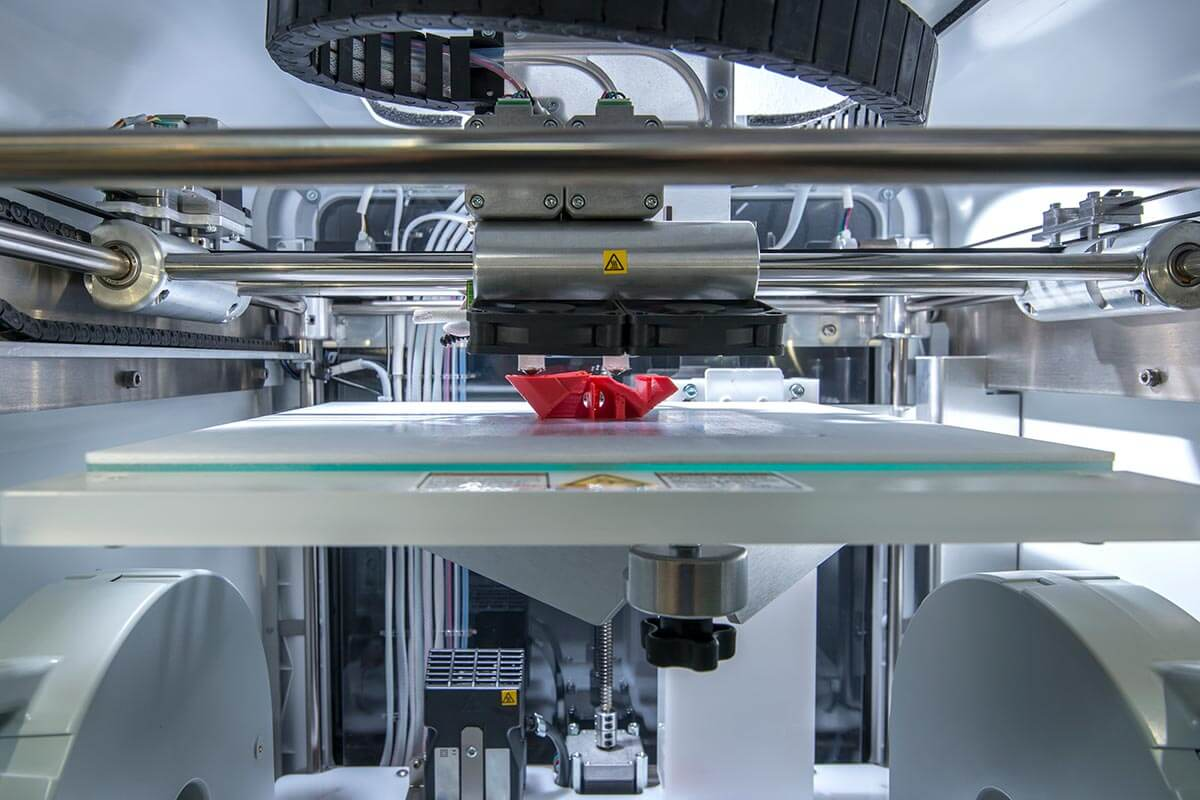 3D printing in the manufacturing industry
