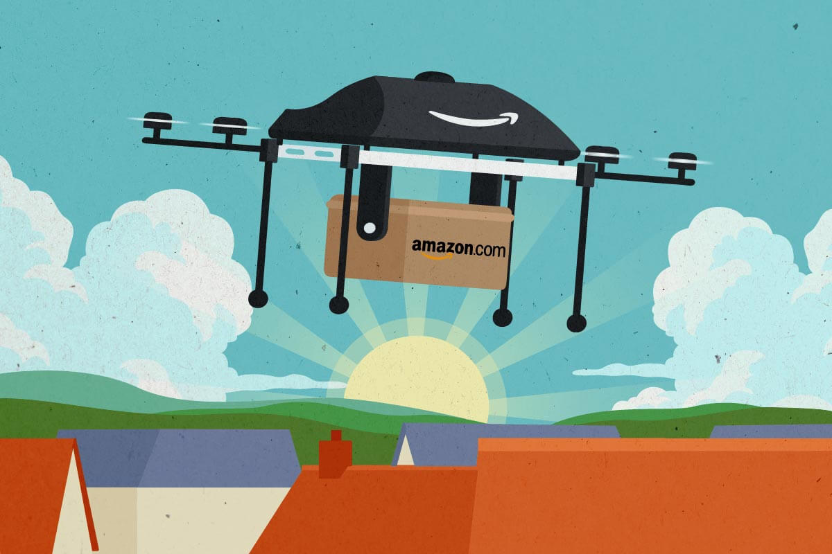 amazon drone ai technology