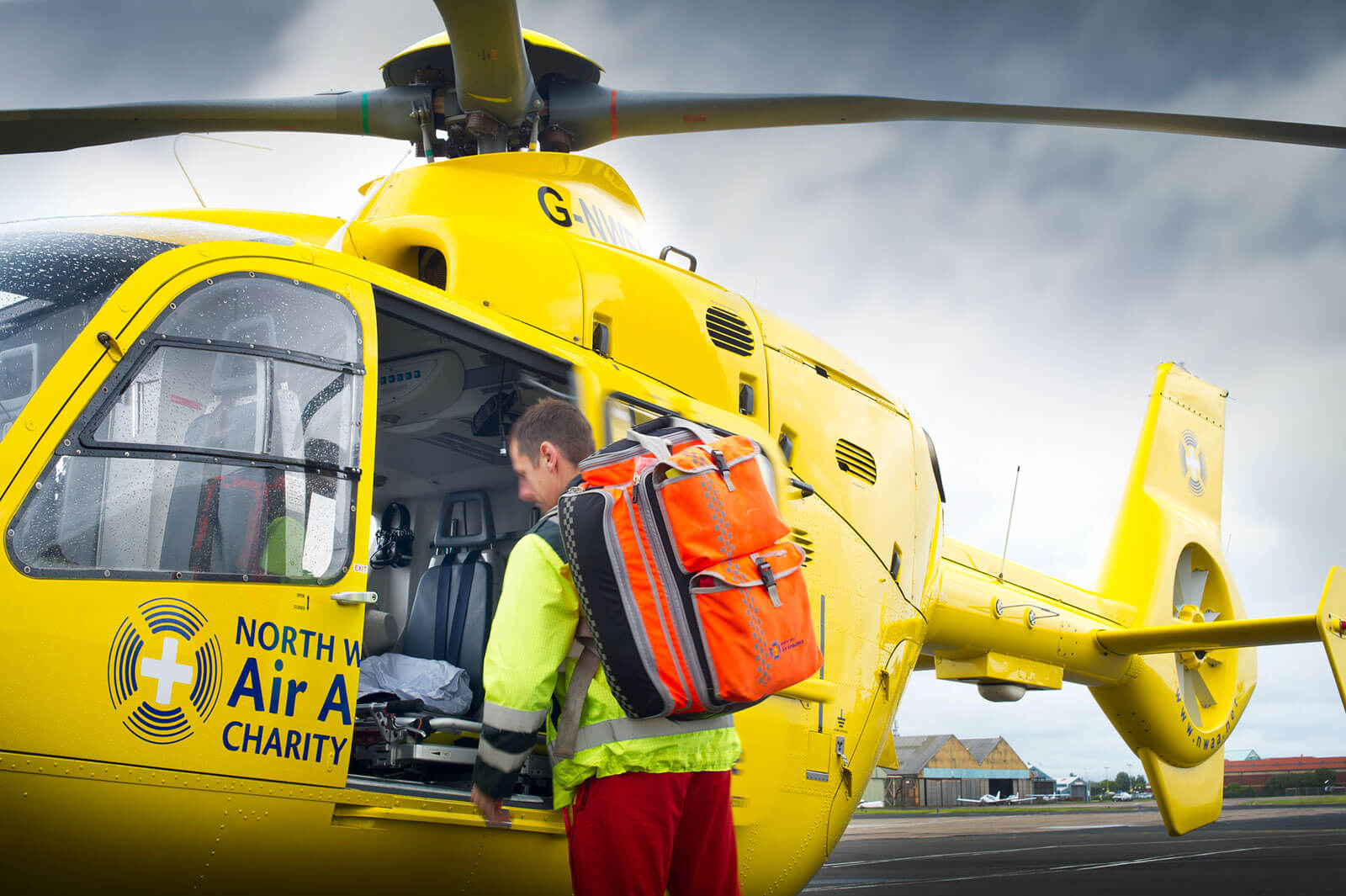 North West Air Ambulance and Crew