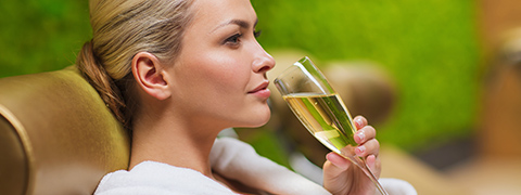 Can you serve alcohol in your salon?