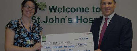 Fundraising supports at st johns hospice