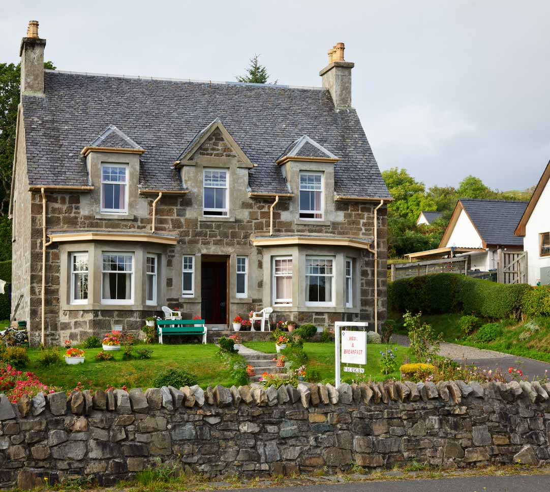picking the perfect property for a b&b