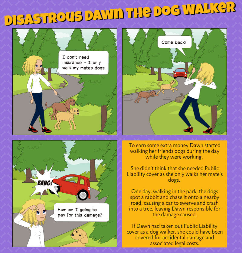 Disastrous Dawn the Dog Walker