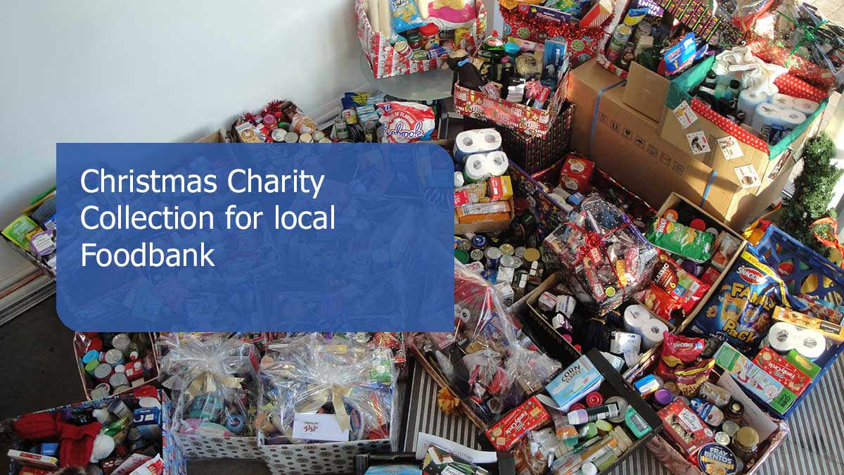 Christmas Charity Collection For Local Foodbank